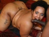 Vidéo porno mobile : No limit with this young black BBW